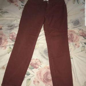 stitch fix lila ryan red jeans size 31.